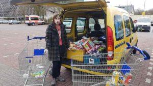 Wohnwagenexil zweite Woche: Weiswasichmein und Spende an Altenheim