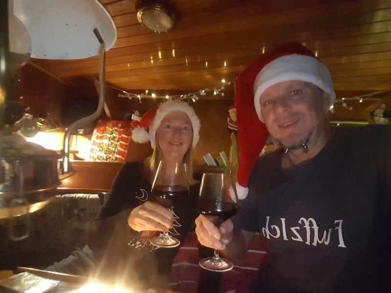 Weihnachten an Bord